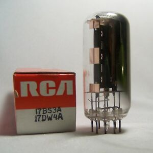 RCA-17BS3A-17DW4A-Electron-Tube-Vacuum-Radio-Audio-Amplifier-Vtg-OS-Untested