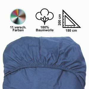 Spannbettlaken-Spannbettuch-180x200-Jersey-Bettlaken-Gummizug-Leintuch-Bettuch
