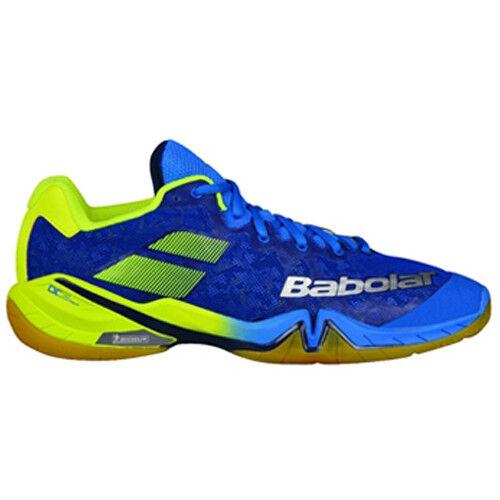 Babolat Shadow Tour Uomo Badminton Badminton Badminton scarpe Indoor Racket Racquet blu 30S1801 7bc5cc