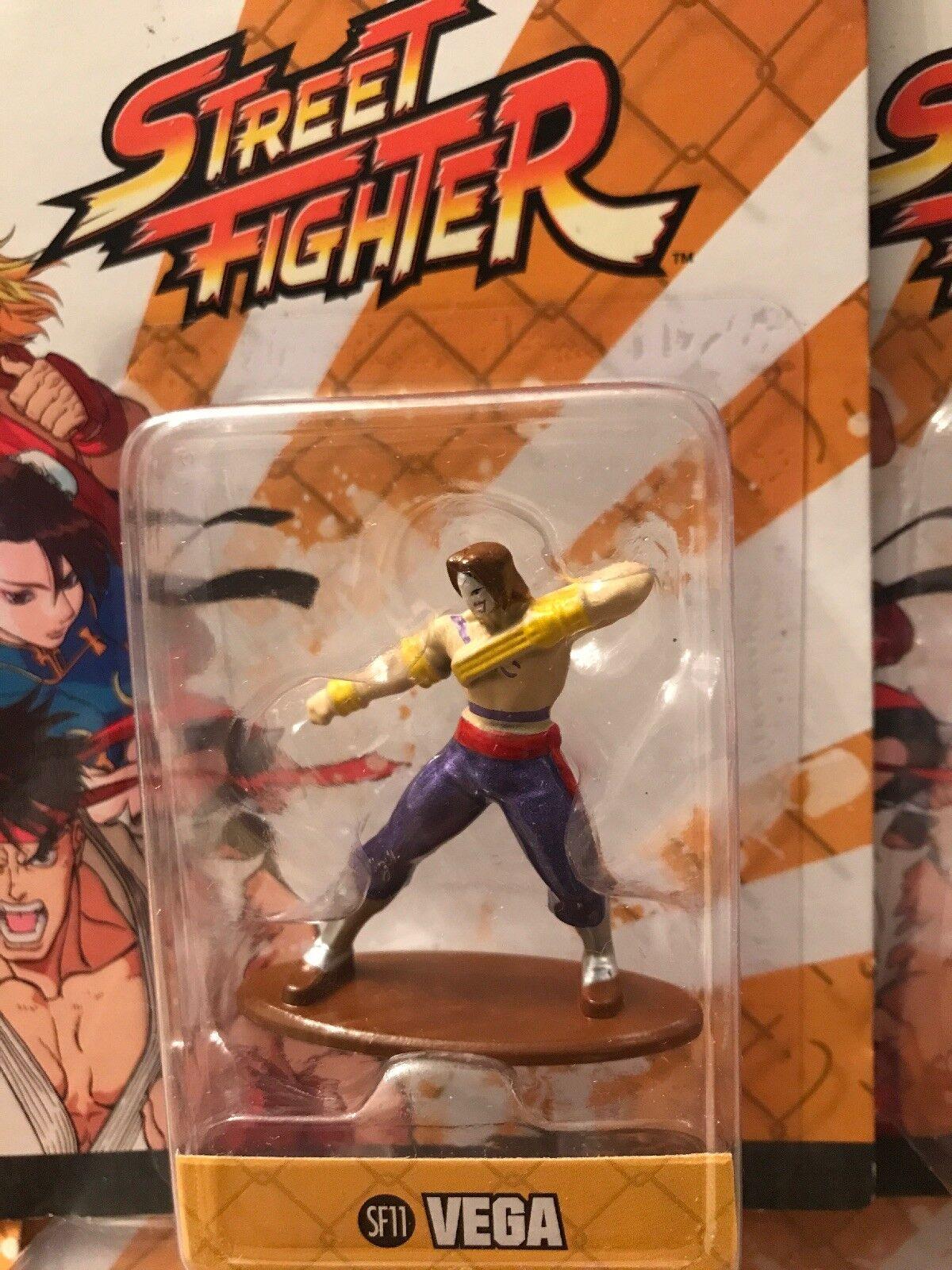 Lote de 12 Street Fighter Nano metalfigs DIE-CAST 1.5  figuras de acción Jada