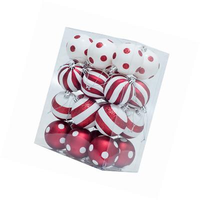 KI Store Christmas Balls Ornament Shatterproof Christmas Tree Onarments 24 pcs w