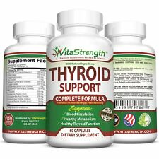 VitaStrength Thyroid Support Complete Formula Supplement