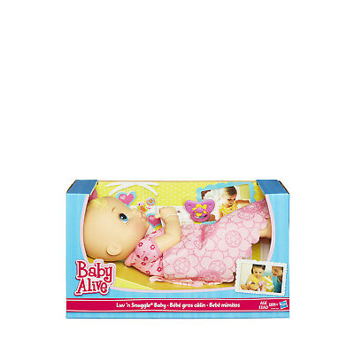 NEW Baby Alive Luv N Snuggle
