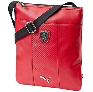 c78022c9dbbe NEW PUMA SCUDERIA FERRARI F1 PORTABLE SIDE SHOULDER MAGAZINE BAG RED ...