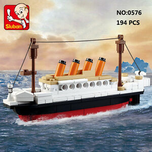 Sluban-B0576-Titanic-Ship-Small-Style-Figure-Building-Block-Toys-Bricks-Toy