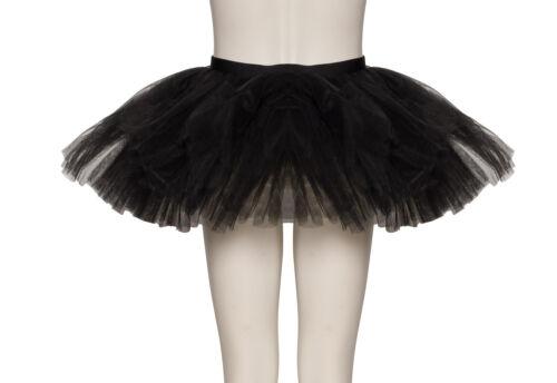 Black Premium Dance Ballet Tutu Skirt Childs /& Ladies Sizes By Katz Dancewear