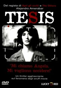 Tesis (DVD Nuovo editoriale, italiano) Amenábar, 1996