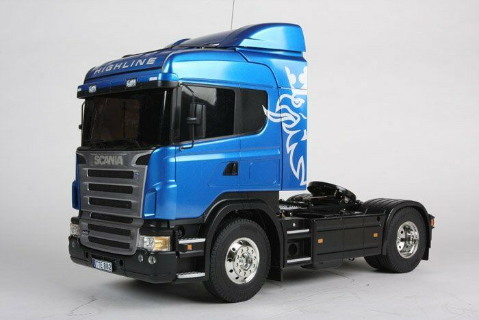 Tamiya 114 Rc Scania R470 Highline Semi Truck Kit Ebay
