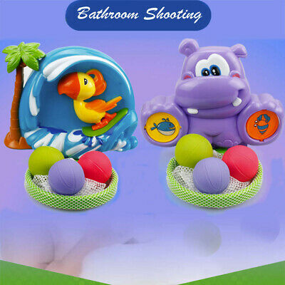 Bathing & Grooming Baby Bath Toy Ball Basket Kids And Toddlers Gift Set Interactive Basketball Hoop Game Relieving Heat And Thirst.