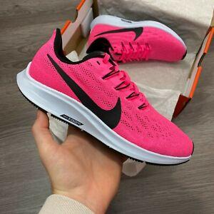 WOMEN-039-S-Nike-Air-Zoom-Pegasus-36-Scarpe-da-Ginnastica-Running-Rosa-Tg-Uk-5-US7-5-EUR38-5