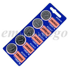5Pcs Genuine SONY CR2032 CR 2032 3v DL2032 L14 Coin Cell Button Battery Set New