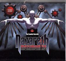NAZARETH- Maximum XS- The Best of/Live & Rare Tracks 2-CD NM Razamanaz Hits