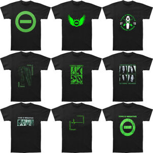 09caecbc7317 Fashion Type O Negative T-Shirts Black Music Shirt Men s Print Top ...
