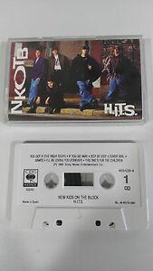 NEW KIDS ON THE BLOCK Nkotb Hits Tape Kassette CBS 1991 Spanisch Ed