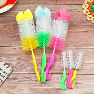 2x-Baby-Bottle-Brush-Cleaner-Spout-Cup-Glass-Teapot-Washing-Cleaning-Tool-Brush