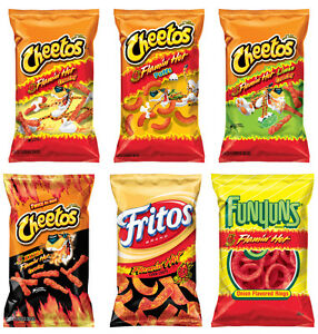 CHEETOS-FLAMIN-HOT-CHEDDAR-JALAPENO-CRUNCHY-DINAMITA-Puffs-Chips-9-5oz-PICK-One