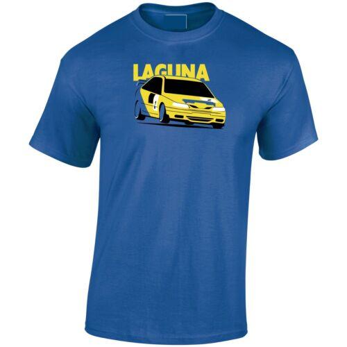 Laguna BTCC British Touring Car Classic Renault Inspired Mens T-Shirt