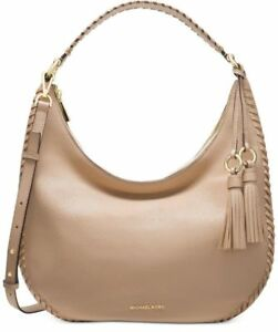 712acdd4d5d7 Michael Kors Lauryn Shoulder Tote Oyster Leather for sale online