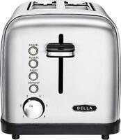 Bella Classics 2-Slice Wide-Slot Toaster