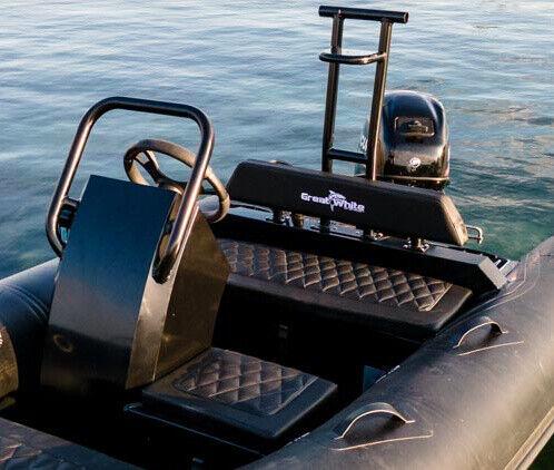 Luksus tender Rib med super sejlegenskaber