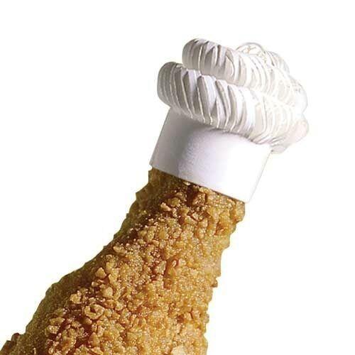Finishingtouches livre blanc côtelette frills et poulet frills