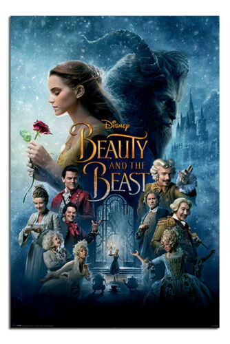 Beauty And The Beast Movie Poster New Maxi Size 36 x 24 Inch