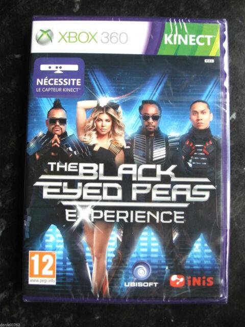 jeu xbox 360 the black eyed peas NEUF