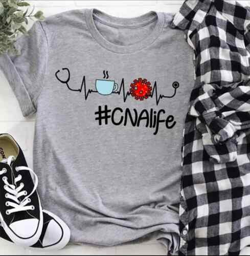 NEW CNA Life Corona Covi Coffee Fun T-shirts Hoodies S-3XL