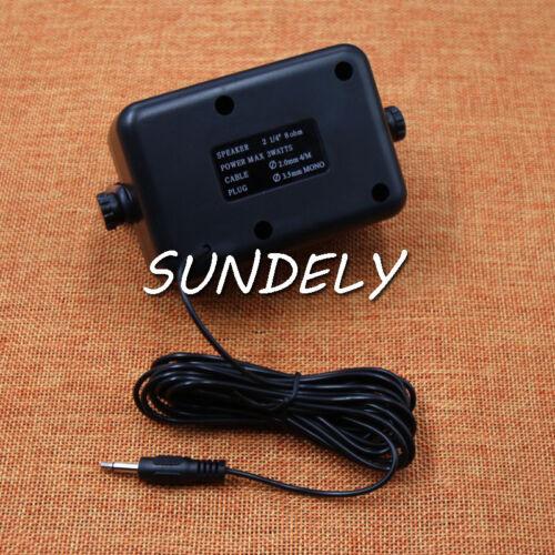 CB Radio Communication Mini External Speaker for Kenwood Motorola ICOM Radios US