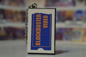 Blockbuster video commerciali PROMO 80s 90s Classic film VHS Portachiavi