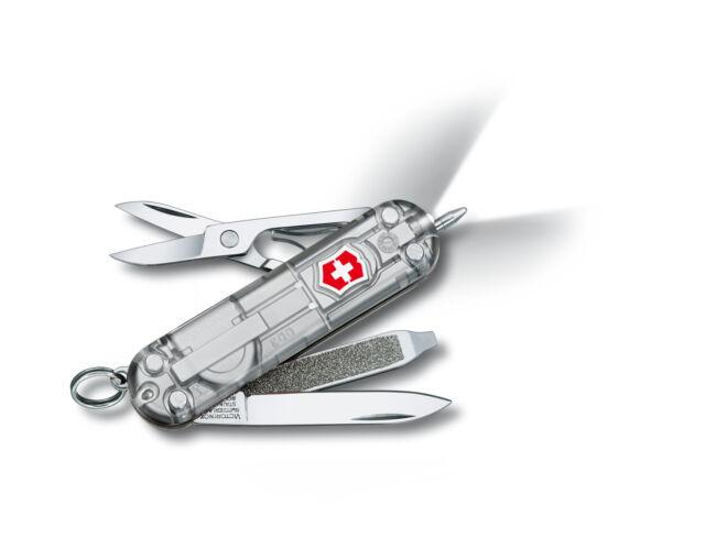 VICTORINOX SIGNATURE LITE SILVERTECH - SWISS ARMY KNIFE - LENGTH 58 MM - 7 TOOLS