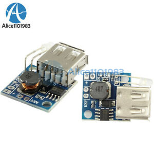 Mini-3A-Power-Supply-Panel-DC-3V-To-DC-5V-Boost-Module-With-Battery-Indicator-5V