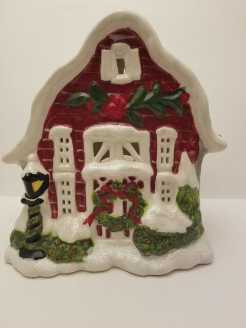 Blue Sky Clayworks First CHRISTMAS NATIVITY Scene Tealight Candle Holder NEW