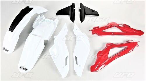 Conjunto de plástico kit Husqvarna TC 250//te 250//te 310 blanco-rojo-año 2009-2013