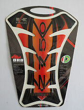 """GENUINE ORBITAL TANK PROTECTOR GEL PAD - KAWASAKI Z750 RED/BLACK - 6.18"""" x 7.95"""""""