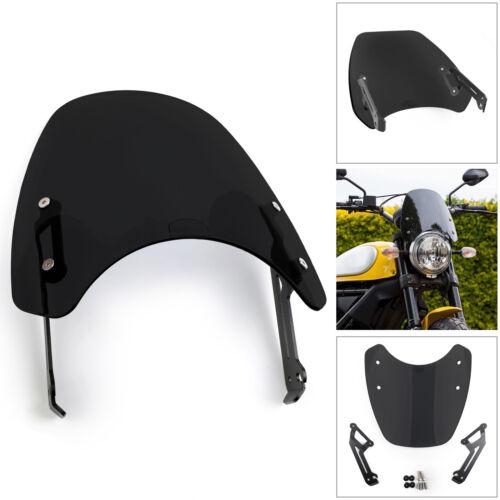 1pc Windscreen Windshield Wind Shield Protection For 2015-18 Ducati Scrambler PY