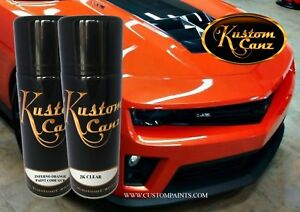 Image Is Loading 12oz Aerosol Of Inferno Orange Chevrolet Paint Kit