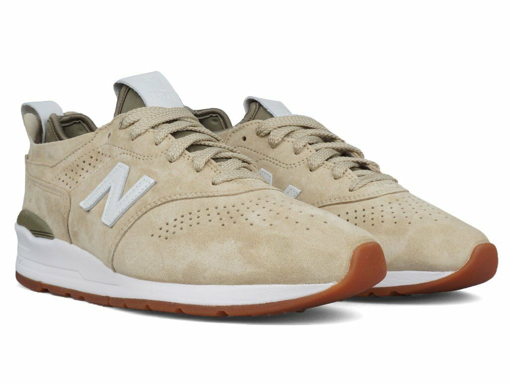 NIB New Balance MENS M997DRA2 997 MADE IN USA PREMIUM SUEDE SAND SNEAKERS 8-12