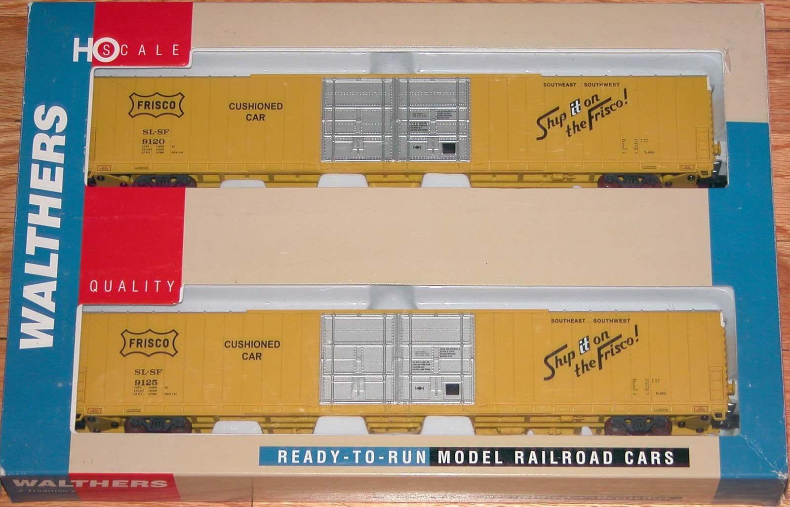 WALTHERS 932-23521 PULLMAN STANDARD 86' HI-CUBE BOXCAR 4-DOOR FRISCO SLSF