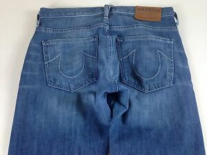 True-Religion-Selvedge-Jeans-Womens-24-27-RUN-BIG-Audrey-USA-Made-30-x-29-Actual