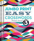 Jumbo Print Easy Crosswords: 3 by Thomas Joseph (Spiral bound, 2016)