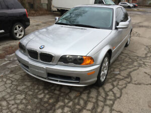2000 BMW 323CI LOW KILOMETERS MINT CONDITION