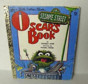 Little-Golden-Book-Oscars-Book-Sesame-Street-CTW-Vintage-1978