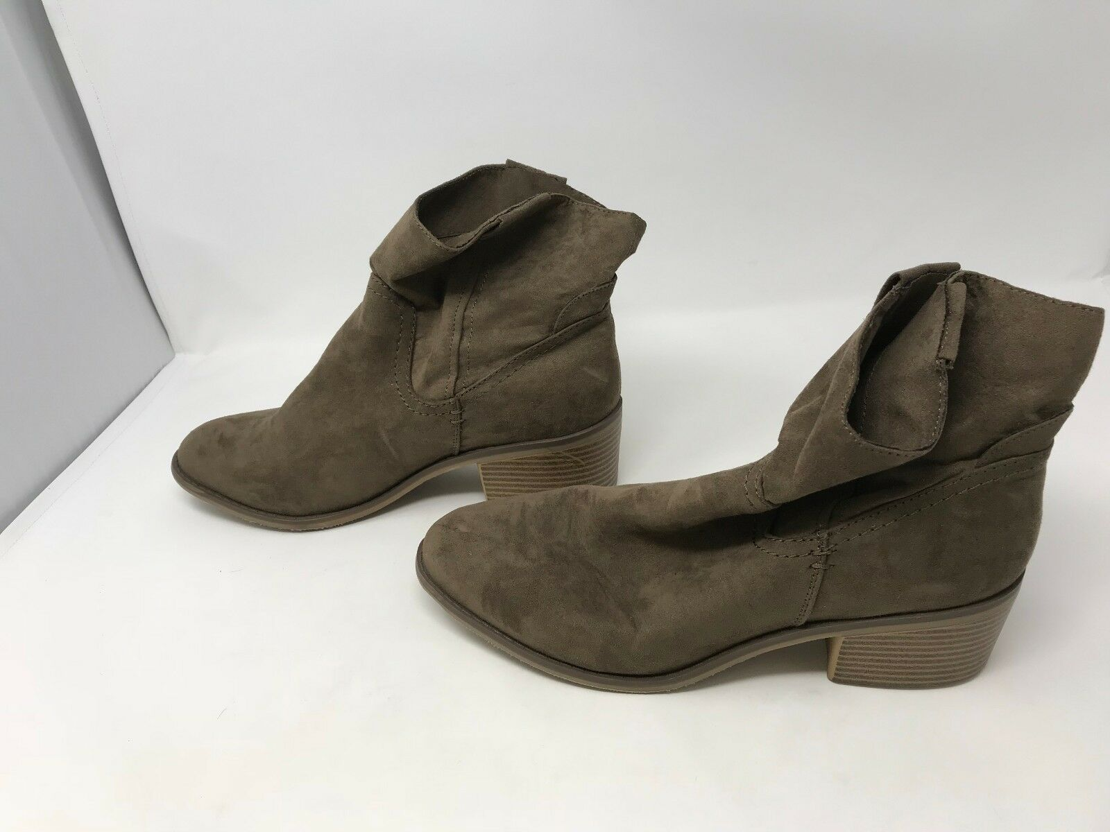Women's Merona (17730) Sawyer Khaki Boots          7o