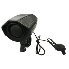 Ultra-loud Speaker Black Electronic Bicycle 6Sounds Bell Alarm Horn* Bike H8D5