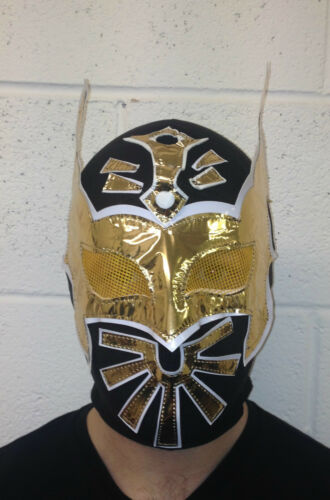 Spandex Wrestling Mask Sin Cara Deluxe Adult Child Size WWE Lucha Libre Mexican