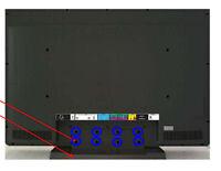 USA NEW Vizio VW32L HDTV40A VW32LHDTV40A LCD TV Screws for Stand - 8 screws