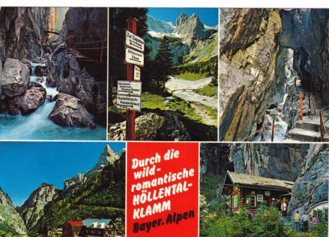 Höllental-Klamm , Ansichtskarte
