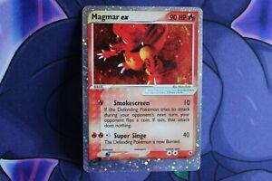 New Listing Vintage Pokemon Card Magmar ex EX Ruby & Saphire Holo Rare