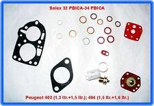 Solex 32 PBICA - 34 PBICA, Vergaser Rep.Satz, Peugeot 403, 404 u.a